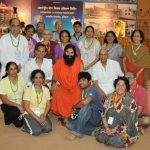 Swami Ramdevji with the US group