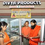 Opening of the first Divya Products Store in North America by Swami Ramdevji