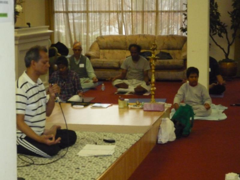 Shekharji, concluding the meet
