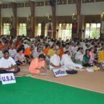 NRI delegates at the Patanjali Inetrnational Meet - April 2009