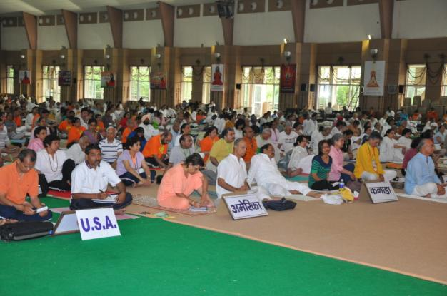 NRI delegates at the Patanjali Inetrnational Meet - April 2009