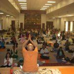 Sh. Sarwan Poddar conducting the Yog Teachers training class in Houston - Nov. 2008