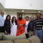 Swami Ramdevji with Patanjali Yog Teachers from Dallas