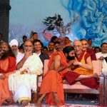 Swamiji with Dalai Lama and other saints