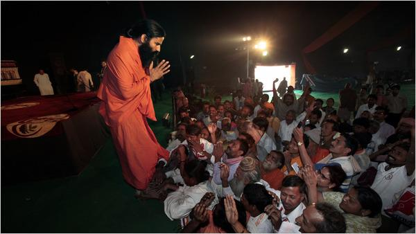 During the Kumbh Mela Shivr