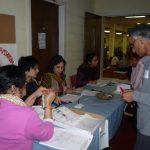 Registration Comm at Work
