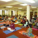 Pranayam session