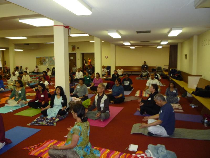Pranayam session (contd.)