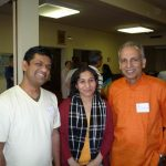 Amit & Mona Modi with Dr. Dilip Sarkar