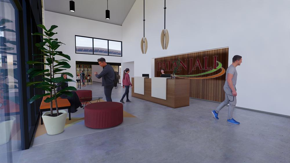Yoga Center Lobby
